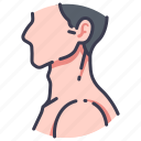 anatomy, body, head, human, medical, neck, people