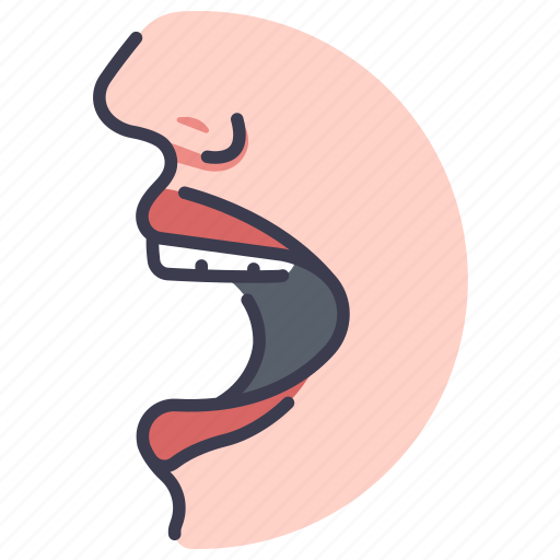 Body, face, human, lips, mouth, teeth icon - Download on Iconfinder