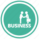 business, businessman, deal, people, persons icon