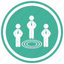 business, circles, concentric, target, targeting, targets icon