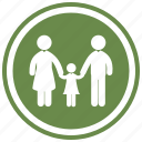 child, couple, family, group, people, persons icon