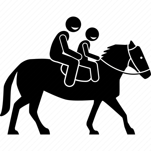 Child, horse, kid, ride, riding icon - Download on Iconfinder