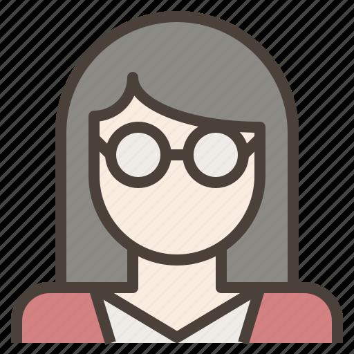 Female Nerd Glasses