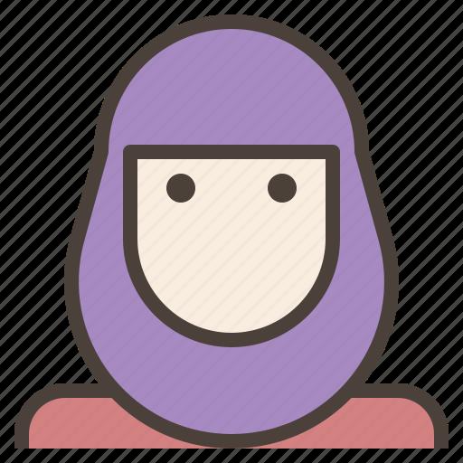 avatar, female, hijab, islamic, muslim, veils, woman icon