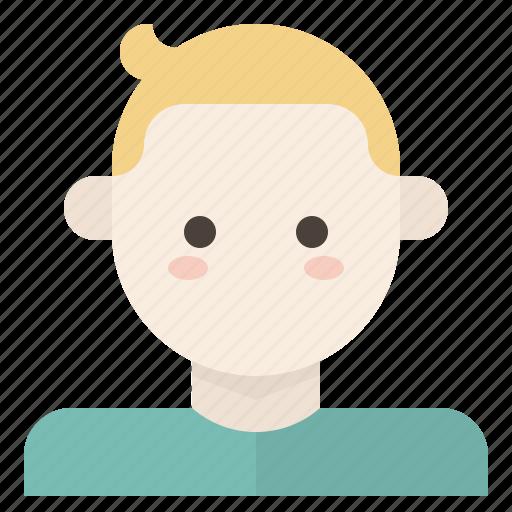 avatar, boy, child, kid icon