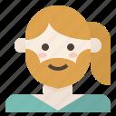 avatar, beard, lgbt, mtf, transgender, woman