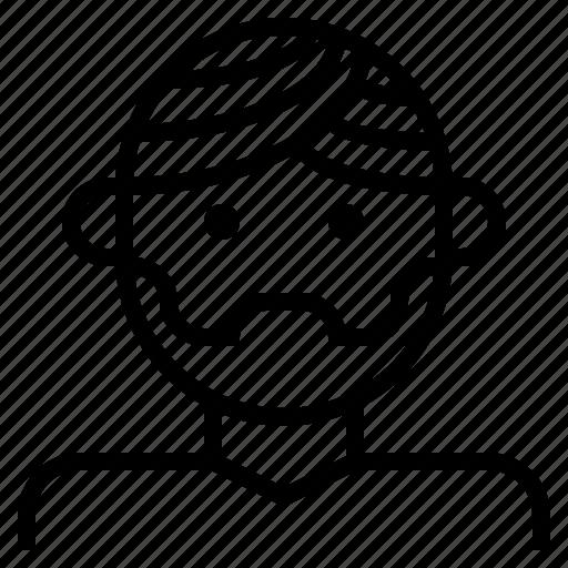 dastaar, dastar, indian, man, sikhism, turban icon