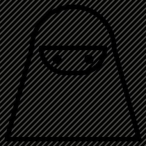 avatar, female, islamic, muslim, niqab, veils, woman icon