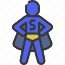 superhero, person, people, stickman, hero