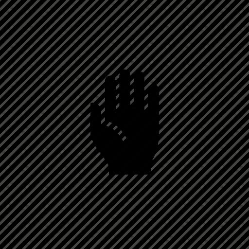 hand, human, palm icon