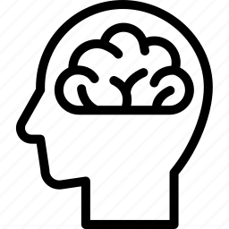brain, head, human, idea, mind, think icon