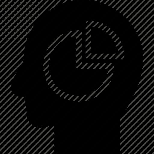 analysis, head, human, idea, mind, think icon