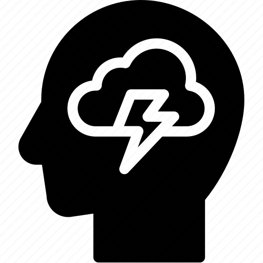 brainstorm, head, human, idea, mind, think icon
