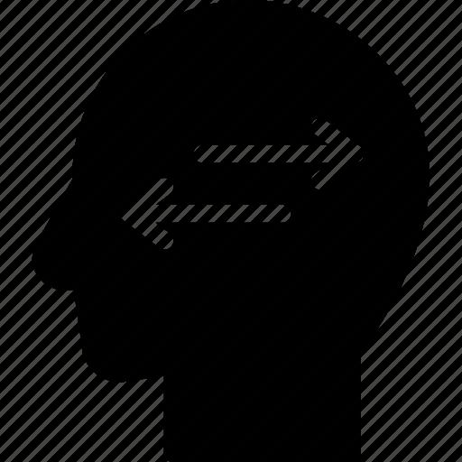 confused, head, human, idea, mind, think icon