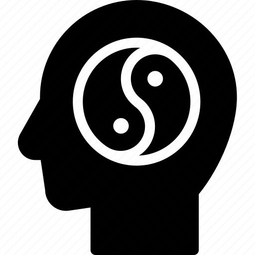 balance, head, human, idea, mind, think icon