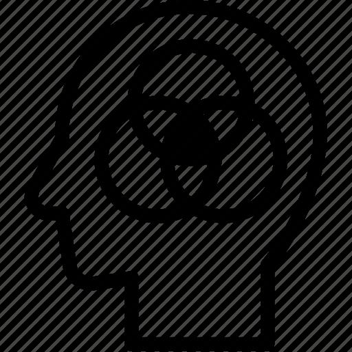 head, human, idea, intelligence, mind, think icon