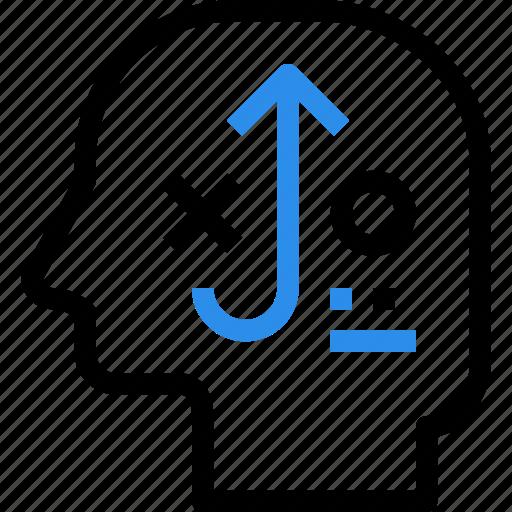 brain, business, head, mind, plan, planning, strategy icon