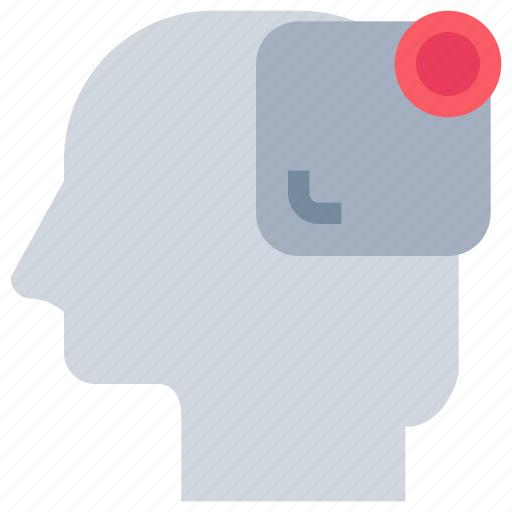 head, interface, mind, notice, ui icon