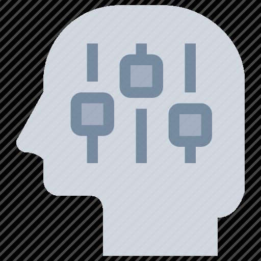 control, head, management, mind icon