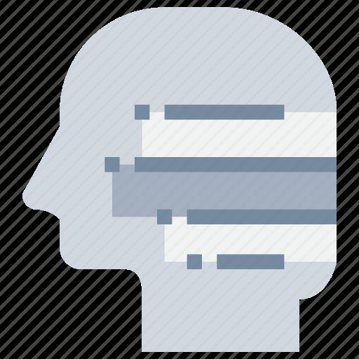 change, head, mind, solution icon