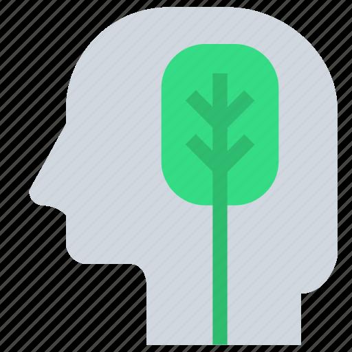 head, logical, mind, thinking icon