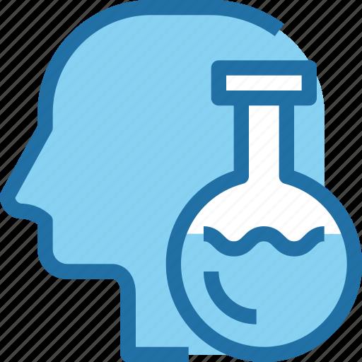 education, head, human, innovation, mind, school, science icon