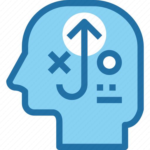 business, head, human, mind, plan, planning, strategy icon
