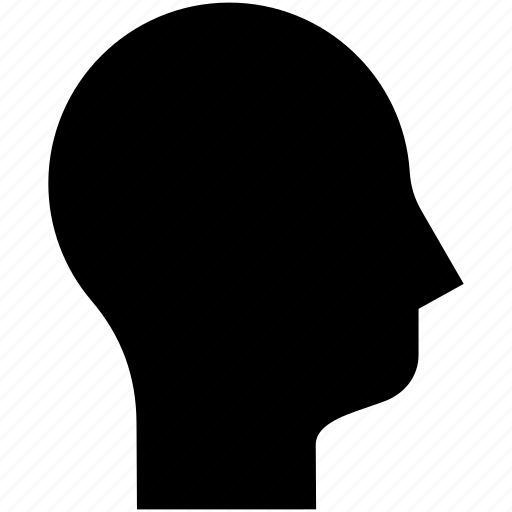 head, head profile, human, person icon
