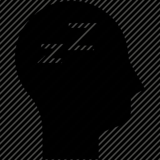 mind, sleep, sleeping, thinking icon