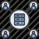 database, access, backup, hosting, server, user, member