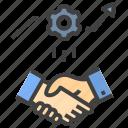 synergy, partner, handshake, collaboration, business, deal