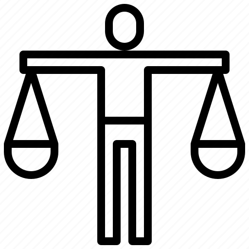balance, business, finance, judge, justice, law, laws, scale icon