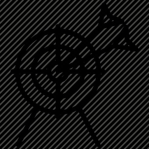 Dartboard, goal, objective, practice, target icon - Download on Iconfinder