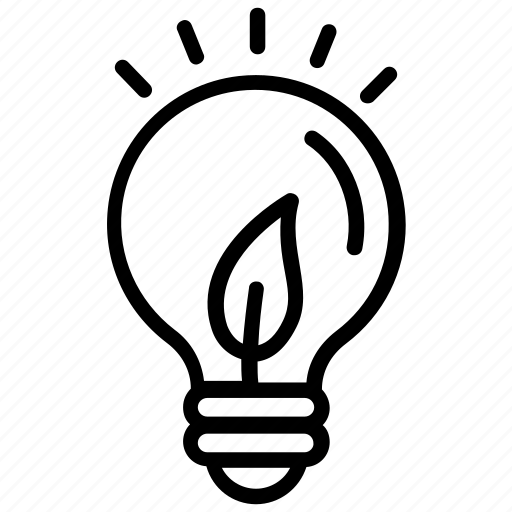 Eco idea, ecology, environmental energy, green eco energy, plant bulb icon - Download on Iconfinder