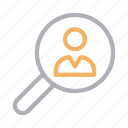 account, hiring, profile, search, user