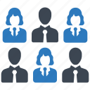 employee, candidate, staff icon