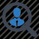 employee, hiring, recruitment icon