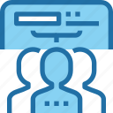 business, human, people, planning, resources, teamwork icon