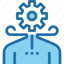 business, human, management, people, process, resources icon