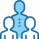 business, human, people, resources, team, work icon