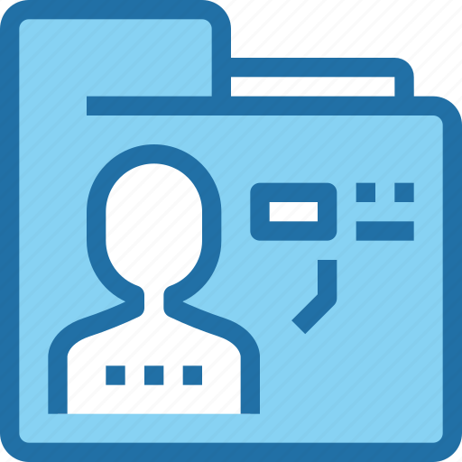 business, document, folder, human, people, resources icon
