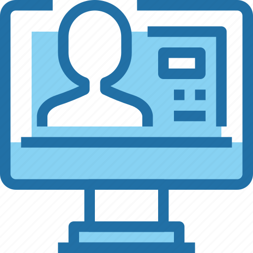 business, computer, human, people, resources, technology icon