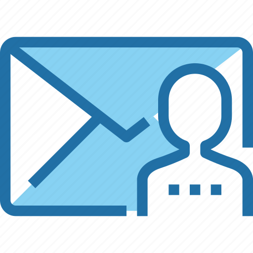 business, communication, human, letter, mail, people, resources icon