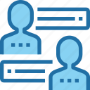 business, career, communication, human, meeting, people, resources icon