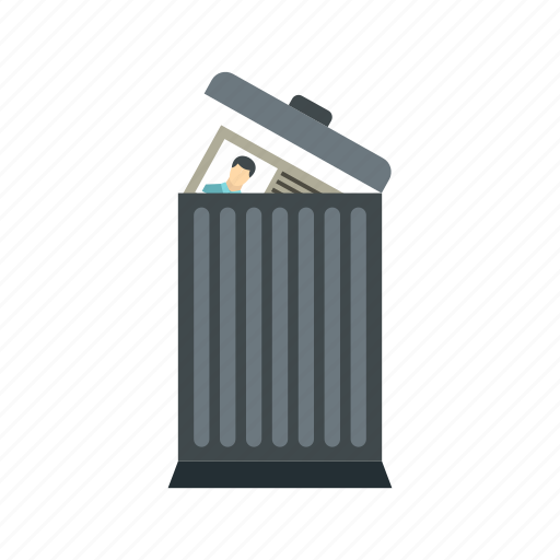 bin, can, garbage, recruitment, resource, rubbish, trash icon