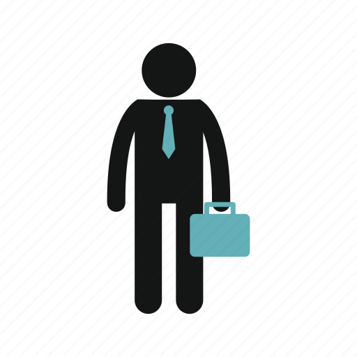 briefcase, business, businessman, candidate, job, male, search icon