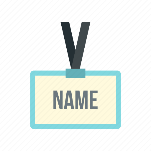 badge, business, card, identity, name, security, tag icon