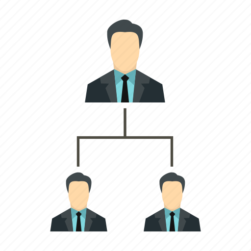 business, hierarchy, leadership, organization, structure, team, teamwork icon