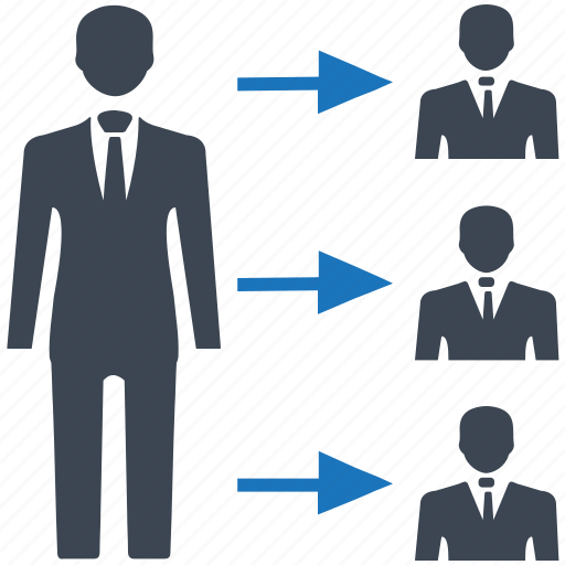 leadership, management, team icon