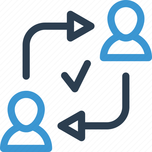 business, client, customer, office, relationship icon